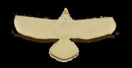 Porcelain Eagle in Flight Pendant image 2
