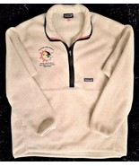 "PATAGONIA SYNCHILLA  Fleece Pullover Jacket ""Across The Years"" - Oatmeal... - $72.37"