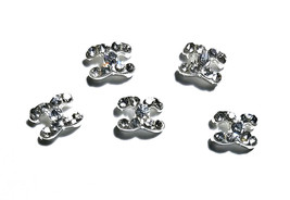 5pc Nail Art Charms 3D Nail Rhinestones Decoration Jewelry DIY Bling C9 - $4.69