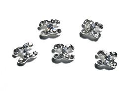 5pc Nail Art Charms 3D Nail Rhinestones Decoration Jewelry DIY Bling C9 - $4.69