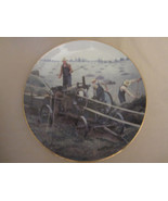 BALING HAY collector plate EMMETT KAYE Farming the Heartland STEAM ENGINE - $14.99