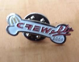McDonald's DISNEY CREWELLA 2000 Dalmatians Lapel Crew Employee Pin Advertising - $7.42