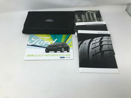 2018 Ford Focus Owners Manual Handbook Set with Case OEM Z0A0654 - $48.50