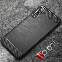 For Samsung Galaxy A7 2018 Case Silicone Rugged Armor Soft TPU Back Cove... - $8.78