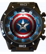 Captain America Sheild New Gt Series Sports Unisex Gift Watch - $34.99