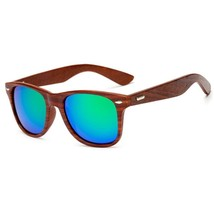 LongKeeper Wood Sunglasses for Men Women Vintage Real Wooden Arms Glasse... - $39.23