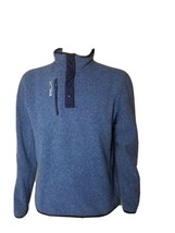 Ralph Lauren RLX Fleece Jacket Mens Medium Blue Pullover Long Sleeve NWT New - $161.70