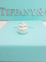 # Tiffany & Co Cream pot Lancome Paris Elite Charm Pendant NWOT RARE  - $175.00