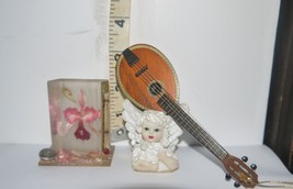 Vintage Mixed Lot of 3 Different Collectibles?Thermometer, Angel, Mini M... - $8.04