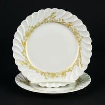 "Haviland Limoges Ladore Bread Plates 2 pc Set, Vintage Gold Decor Swirl 6 3/8"" - $14.70"
