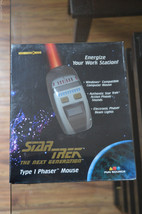 1997 Star Trek The Next Generation Type 1 Phaser Mouse,  In Factory Seal... - $18.69