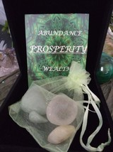 Prosperity Crystal Healing Bag - $18.00