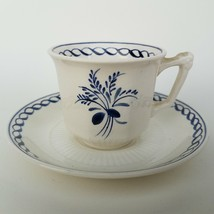 Adams England Hand Painted Tea Cup And Saucer - $28.12