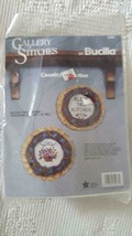 NEW SEALED BUCILLA GALLERY STITCHES COUNTRY COLLECTION #32463 BLESS KITC... - $11.87