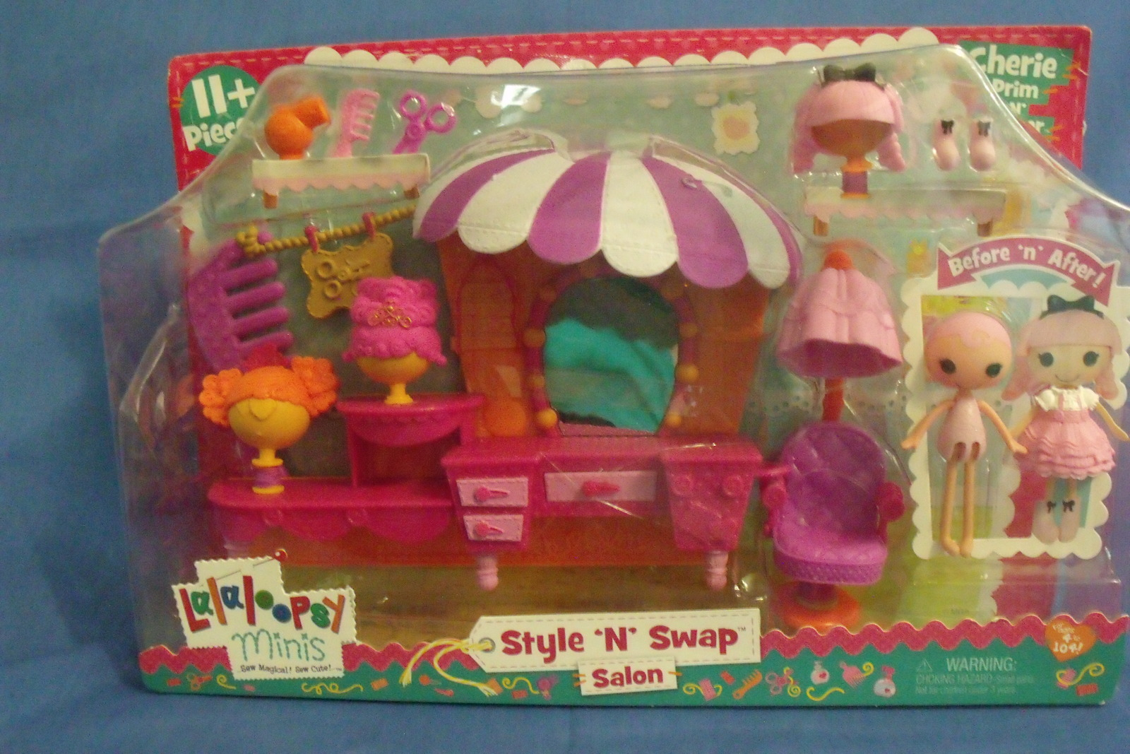 Toys Dolls New Lalaloopsy Style N Swap Salon Cherie Prim N Proper Play Set 11 pc