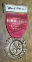 1935 HUDSON MOHAWK ALTAMONT NY FIREMANS CONVENTION MEDAL - $26.72