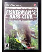 Fisherman's Bass Club (Sony PlayStation 2, 2003) - $5.48