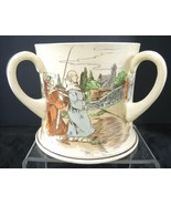 Rare 1911 Doulton Monks and Mottos Series Ware Loving Cup - $41.79