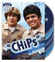 CHIPS Complete 3rd Third Season 3 Three TV Show DVD Set Collection Serie... - $45.53