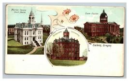 Vintage Early 1900's Undivided Back Salem Oregon Buildings Willamette Un... - $15.81