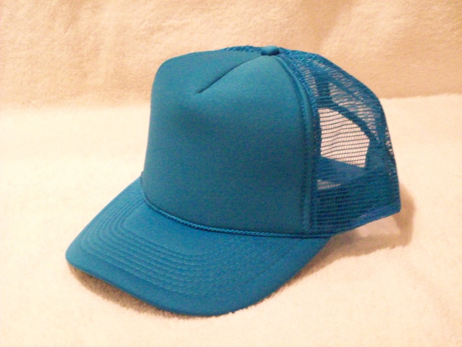 4186b1be6 New Turquoise Foam Front Summer Mesh Trucker and 50 similar items