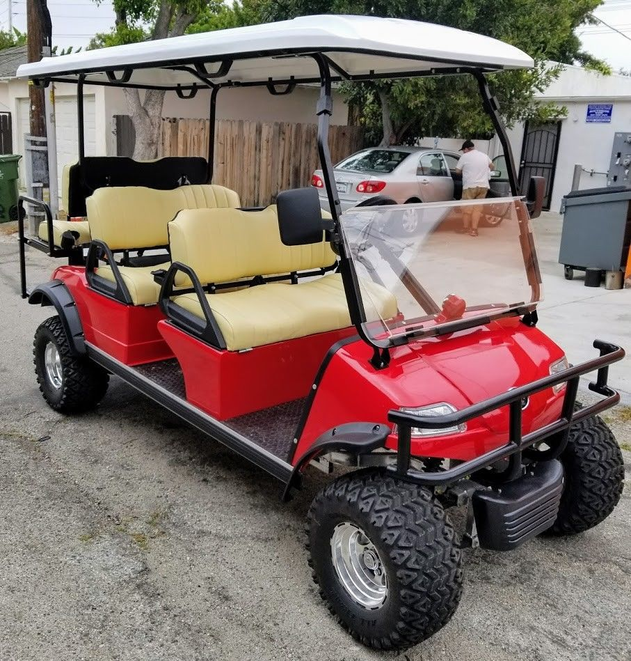 2004 Club Car Precedent Iq System Electric Vehicle Electric Golf Cart