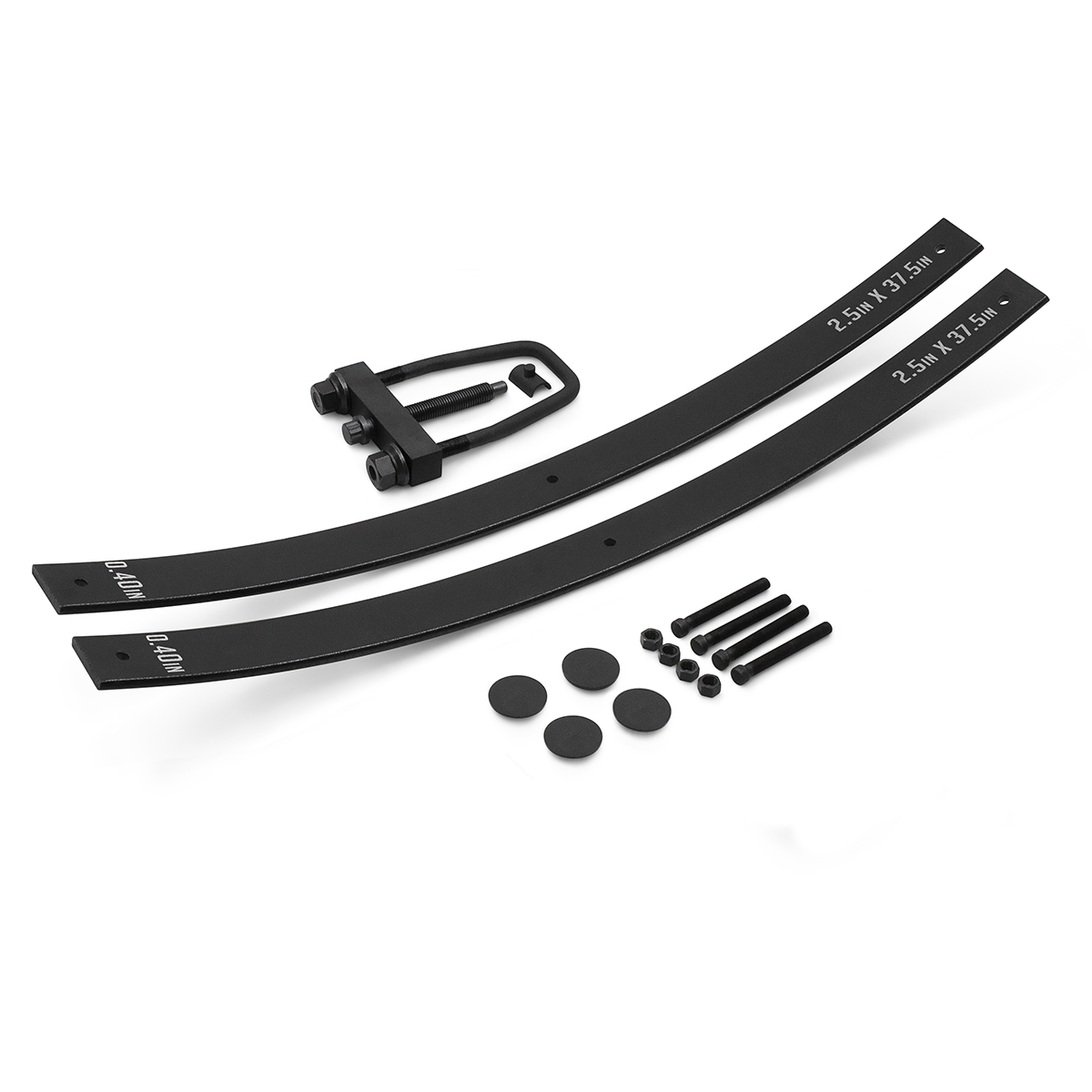 "Primary image for For 1977-1997 Ford F250 F350 4WD 1.5"" - 2.5"" Lift Long Add-a-Leaf Kit WITH TOOL"
