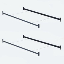 TWO SETS Twin Size Bolt on Headboard Footboard Bed Frame Rails with Cros... - $79.10