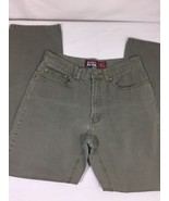 Old Navy Women Jeans Size 8  Dark Green Color Soild Color 100% Cotton  B... - $14.96