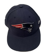 New Era 59Fifty NFL New England Patriots Fitted Hat Cap 7-5/8 One Size F... - $17.33