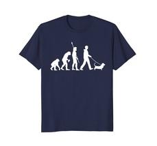 New Fashion -Basset Hound T-Shirt - Funny Dog Owner Evolution Gift Men - $19.95+