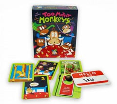 Too Many Monkeys Card Game ~ A Totally Bananas Card Game - Best Toy Awar... - $14.40