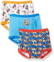 NEW Nickelodeon Toddler Boys Paw Patrol Training Pant 3pk Assorted Size 2T - $14.99