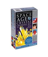 Space Age Crystal Growing Kit: 4 Crystals (Citrine, Ruby, Amber) - $19.72