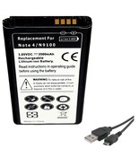Samsung Galaxy Note 4 SM-N910R4 US Cellular Battery Replacement + USB Da... - $14.84