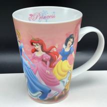 WALT DISNEY COFFEE MUG CUP princess belle snow white cinderella ariel au... - $19.74