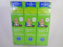 Boudreaux's Butt Paste Plant Based Diaper Rash Ointment 3 PACK {MB-B} - $17.77
