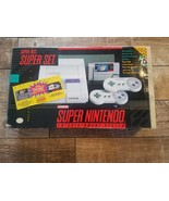 Super Nintendo Entertainment System Box And Foam Only - $71.94