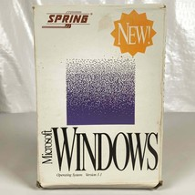 Windows 3.1 Operating System 5 1/4 Floppy Discs With Box Manuals - $24.01