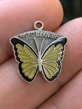 Vintage American Business Womens Association Sterling Silver Enamel Charm ABWA - $7.84