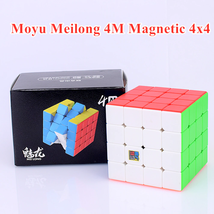 MoyuMeilong M magnetic 4x4x4 magic cube 4x4 puzzle cube 4x4x4 speed cube - $19.94