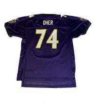 BALTIMORE RAVENS: #74 OHER FOOTBALL JERSEY NFL REEBOK: YOUTH XL - $19.57