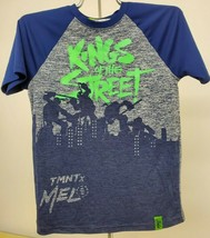Nickelodeon Boys Carmelo Anthony Tmnt Graphic T-Shirt  Navy Blue Med - $11.30