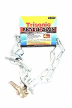 Bicycle Chain Lock With Keys, 4 ft. - $5.00