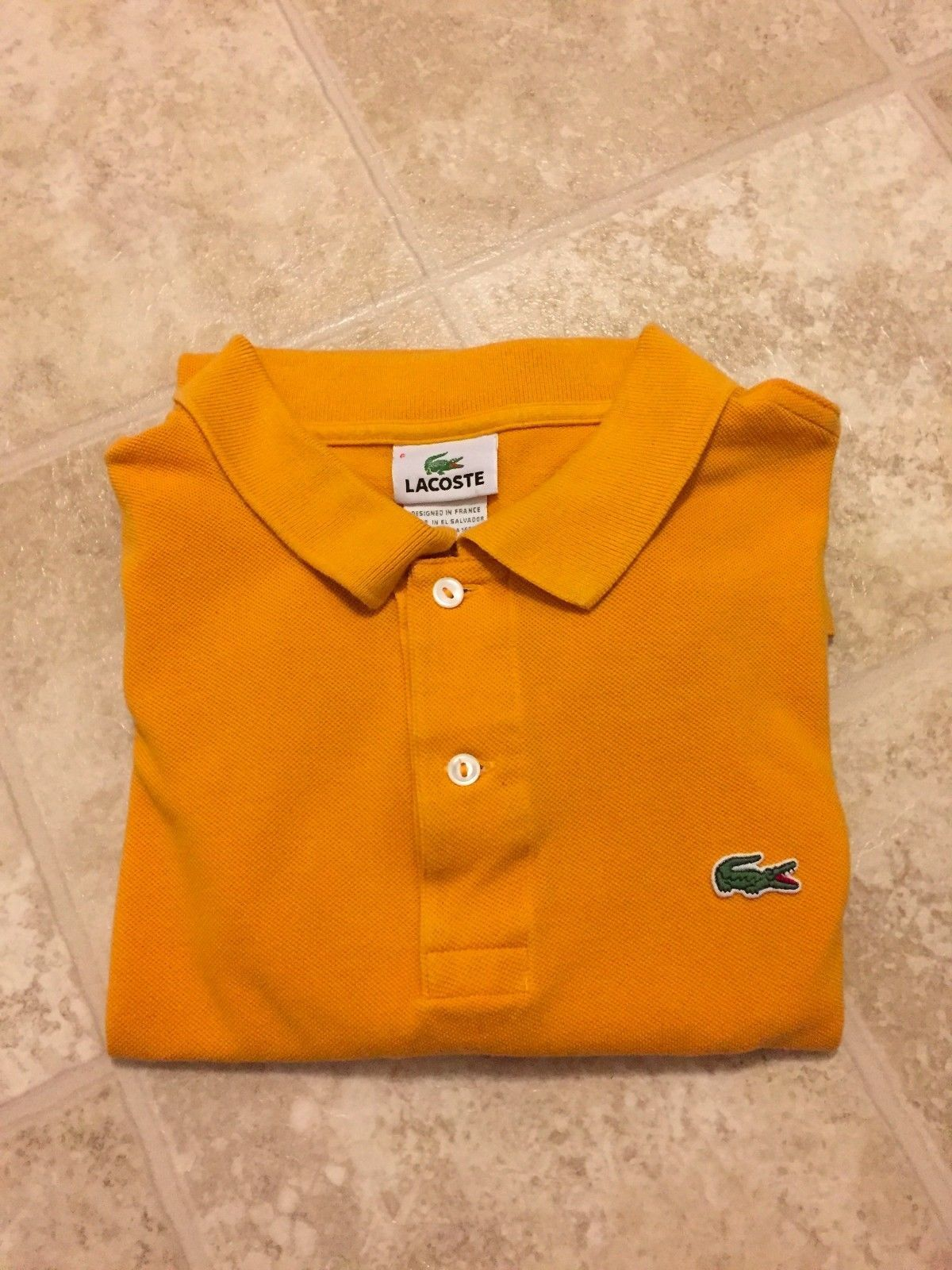 Lacoste Mens Short Sleeve Polo Shirt Size And 44 Similar Items