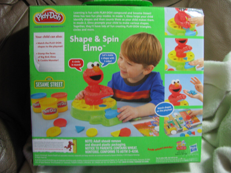Sesame Street Shape and Spin Elmo  Unopened  and 50 similar