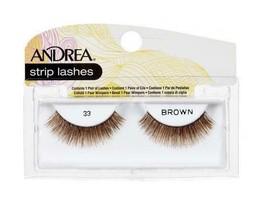 Andrea Strip Lashes 33 Brown - $2.99