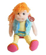 Dazzlin Destiny Doll Beanie Boppers TY Collection Beanie Girl Doll Orang... - $14.95