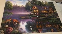 Buffalo Games Jigsaw Puzzle 2000 Pieces CABIN FEVER 38.5 x 26.5 In with Poster image 7