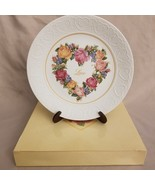 """VINTAGE 1987 Avon Collector Plate """"A Bouquet of Love"""" New in Box - $2.92"""